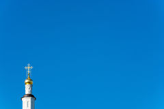 Church domes. Royalty Free Stock Image