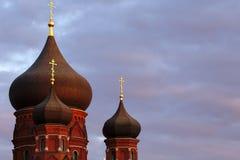 Church domes Royalty Free Stock Image