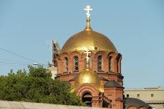Church domes Stock Image