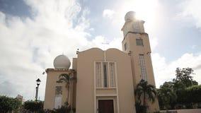 Church Dominican Republic stock video footage
