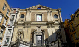 Church of Donnaregina Nuova, Naples, Italy Royalty Free Stock Images