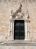 Beautiful door (Old town Dubrovnik) Royalty Free Stock Photo