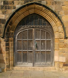 Church Door. At St Mary's, Scarborough Yorkshire Royalty Free Stock Photo