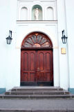Church door. The door at the entrance to a church Royalty Free Stock Photography