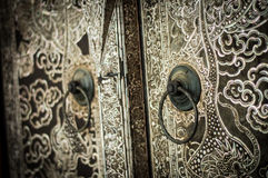 Church door art Royalty Free Stock Image
