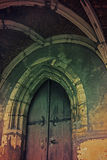 Church door. The church of the Assumption of Virgin Mary Royalty Free Stock Image