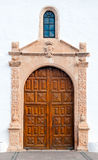 Church door in Betancuria Royalty Free Stock Photography