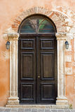 Church door in Chania Royalty Free Stock Photos