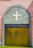 Church door. The Classic Wooden Church door Royalty Free Stock Photography