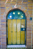 Church door. The Classic Wooden Church door Stock Photography