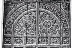 Church door @ goa royalty free stock images