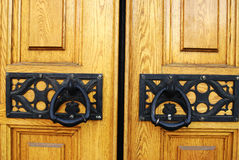 Church door handle Stock Images