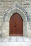 Church door in Ireland Stock Images