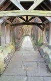 Church door long path Stock Photography