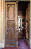 Church door. Door of Orthodox Cathedral of Saints Peter and Paul in Constanta Romania Royalty Free Stock Photo