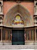 Church door Royalty Free Stock Photos