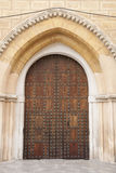 Church Door; Santa Cruz Neighbourhood; Seville Stock Photos