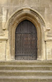 Church door and steps Royalty Free Stock Image