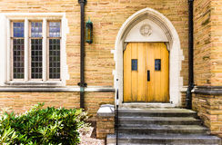 Church Door and Window Royalty Free Stock Images