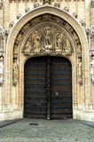 Church doors stock images