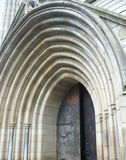 Church doors Stock Photography