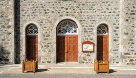 Church doors Royalty Free Stock Photo