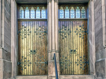 Church Doors Royalty Free Stock Images