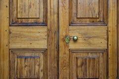 Church Doors. Wooden church doors in Charleston, South Carolina Royalty Free Stock Image