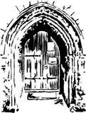 Church doorway Stock Photos