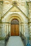 Church Doorway Royalty Free Stock Images