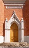 Church doorway Stock Photography