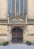 Church doorway Stock Photography