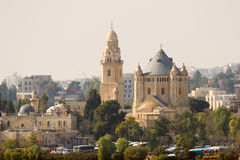 Church of the Dormition. Jerusalem, Israel Royalty Free Stock Images