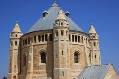 Church of Dormition -close up Royalty Free Stock Images