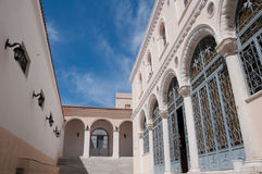 Church of the Dormition, Ermoupolis (Greece) Royalty Free Stock Photos