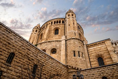 Church of the Dormition, Jerusalem. Israel Royalty Free Stock Photography