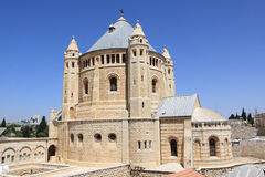 The Church of the Dormition, Jerusalem Stock Photography