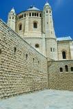 Church of the dormition, Jerusalem Stock Photo