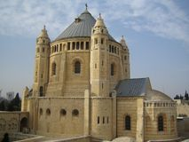 Church of Dormition in Jerusalem Stock Photo