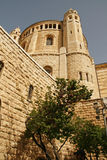 Church Of Dormition On Mount Zion,Jerusalem. Israel Royalty Free Stock Photos
