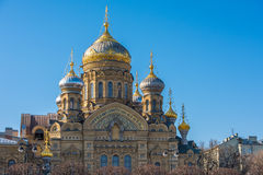 Church of the Dormition in Saint Petersburg, Russia Royalty Free Stock Photos