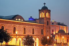 Church in downtown of Beirut Royalty Free Stock Photography