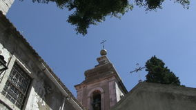 Church in downtown Lisbon, Portugal. Small church in downtown Lisbon, Portugal stock footage