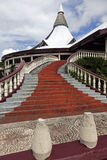 Church in downtown of Nuku'Alofa Royalty Free Stock Images