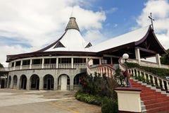 Church in downtown of Nuku'Alofa Royalty Free Stock Photos