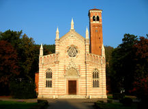 Church in Dubi. As Santa Maria dell Orto (Czech Royalty Free Stock Photography
