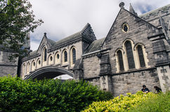 A church in Dublin Stock Images