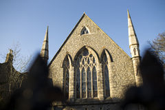 Church in Dublin, Ireland. Royalty Free Stock Images