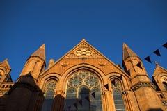 Church in Dublin, Ireland. Royalty Free Stock Photos