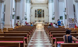Church in Dubrovnik Royalty Free Stock Photo